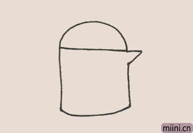 简笔画之油壶