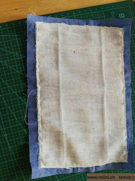 diy透气的纱布口罩 第5步