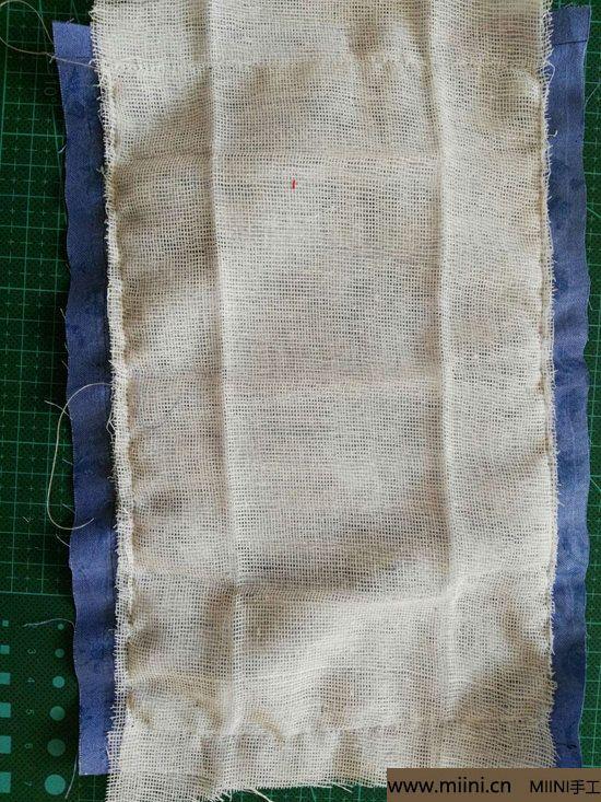 diy透气的纱布口罩 第4步