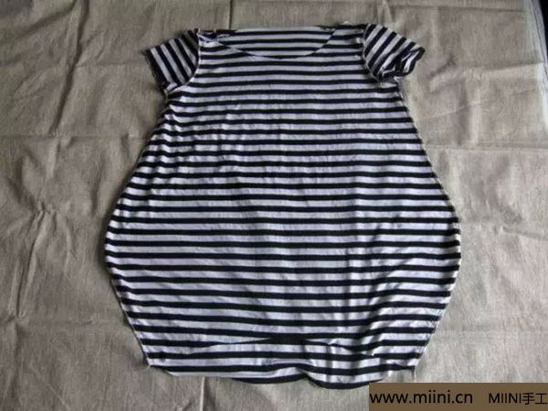 棉布之t恤的做法 第3步