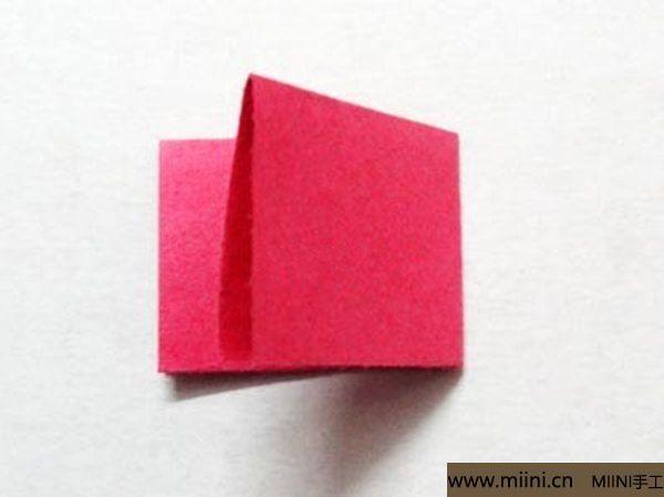 三角插折纸鱼教程 第3步