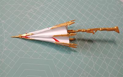 千机伞超轻粘土制作教程
