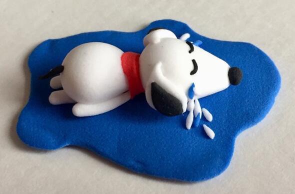 哭泣的单身狗粘土制作步骤