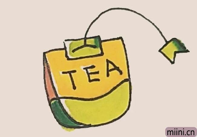简笔画之茶包