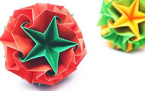 教你折纸绘梦星球,挂在房间里星光灿烂