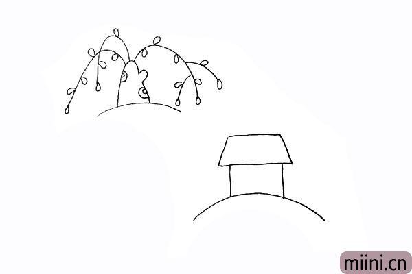 6.以及房顶的形状.是一个上窄下宽的梯形。