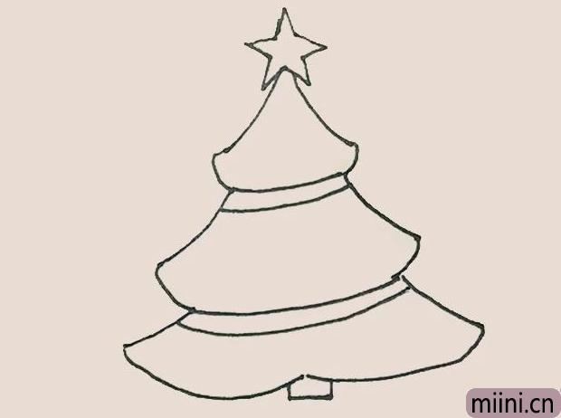 简笔画圣诞树