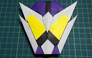 教你折纸假面骑士面具