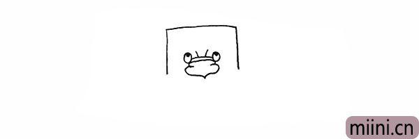 4.画出树爷爷大大的鼻子.注意鼻子的形状。