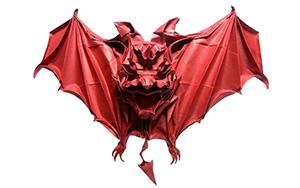 折纸蝙蝠,千万别吃它,冠状病毒携带者
