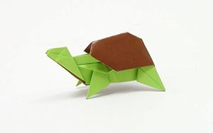 小乌龟折纸视频教程