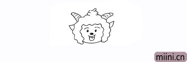 11.以及羊角上的纹路。