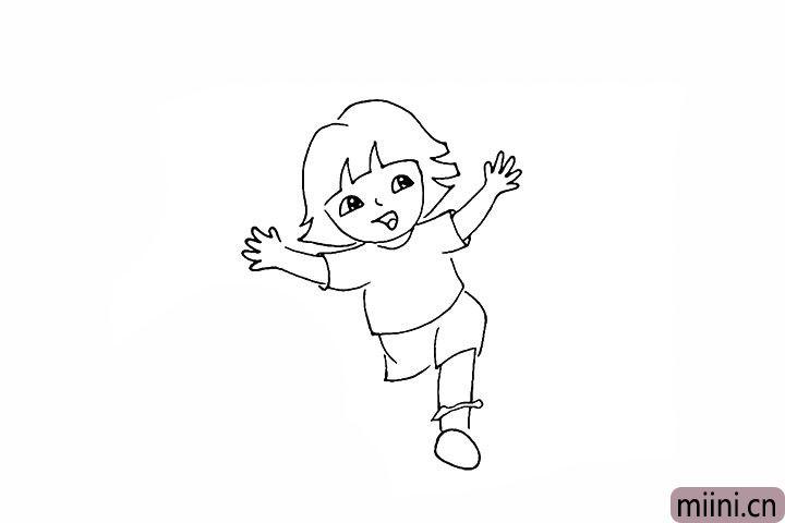 15.我们画出一个椭圆表示鞋子的底面。