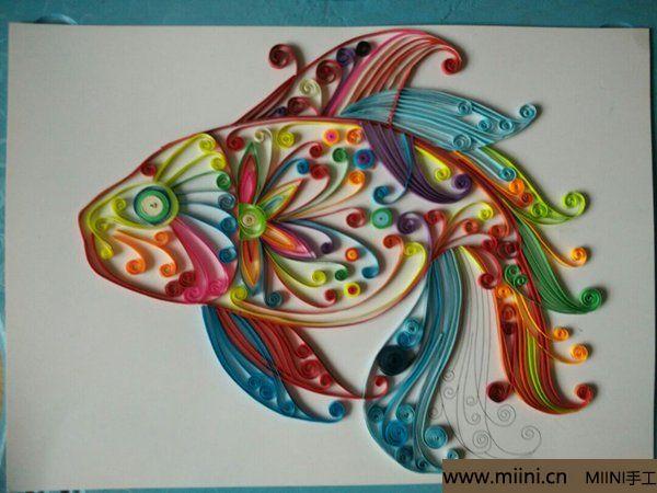 七彩神仙鱼 第4步