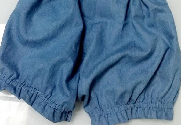 很简单的南瓜短裤制作步骤