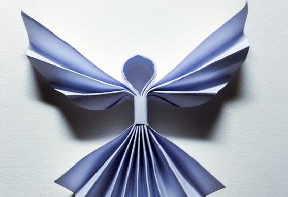 天使的折纸步骤图解