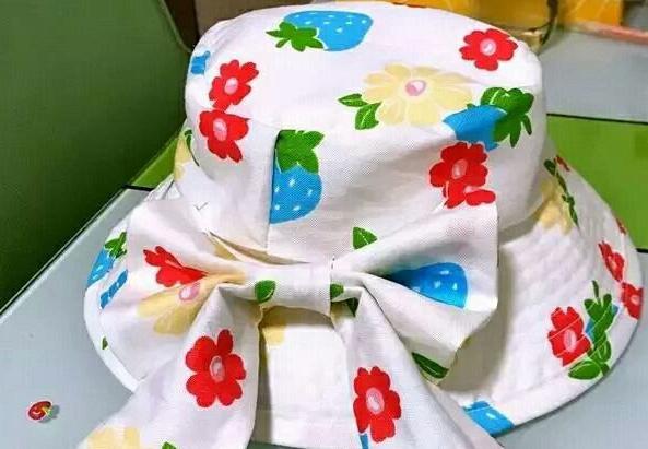 大檐女士遮阳帽子制作步骤