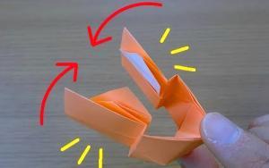 折纸拍手神器,声音很响,简单好玩