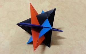 折纸花球简洁版本,组合起来真好看