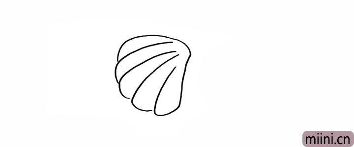 3.线条要画的圆润一些显的更加饱满。
