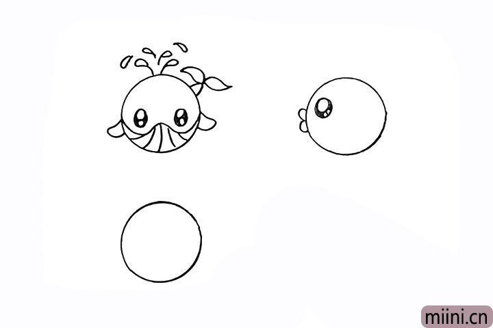 8.还有它圆圆的大眼睛留出高光。