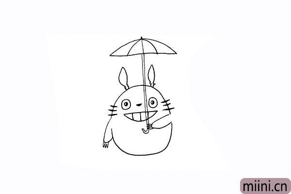 6.原来是拿了把雨伞.同学们要仔细观察。