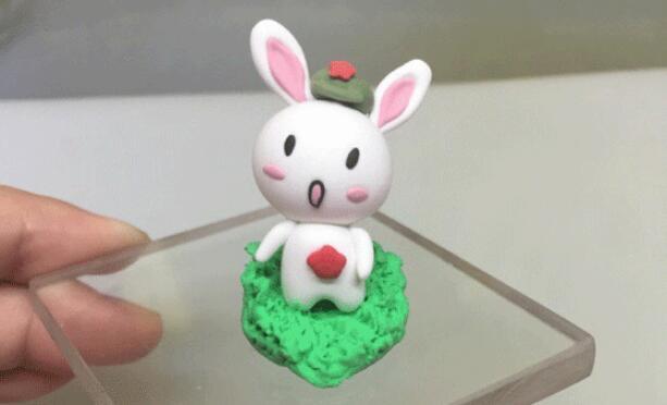 简单的那兔粘土玩偶制作教程