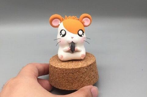 超轻粘土玩偶松鼠制作教程