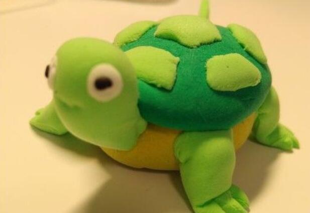 用超轻粘土制作卡通小乌龟教程