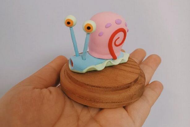 超轻粘土小蜗牛制作教程