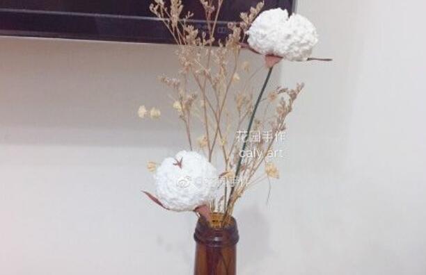 超轻粘土制作棉花步骤图解