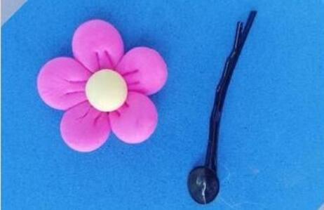 超轻粘土制作特别简单又实用漂亮的发卡