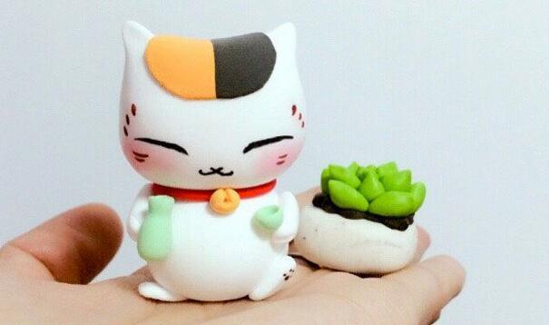 猫咪老师粘土玩偶制作教程