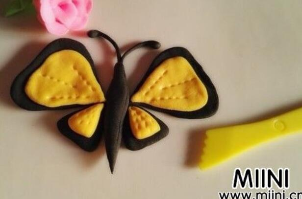 超轻粘土制作漂亮蝴蝶步骤教程