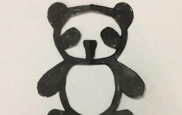 可爱的大熊猫怎么剪