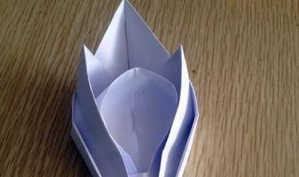 儿童手工折纸,宇宙飞船的折法
