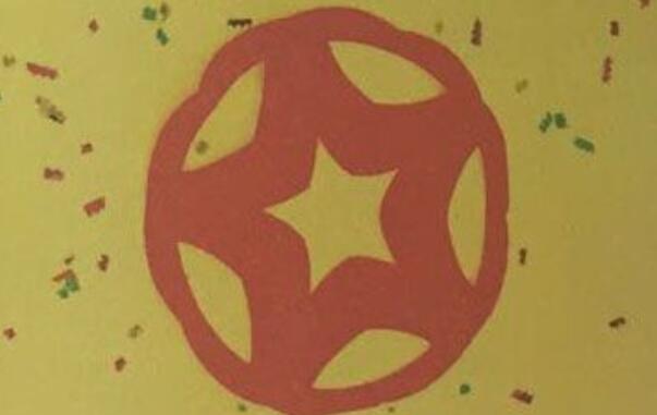 五角星剪纸步骤图解