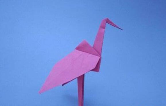千纸鹤的折纸步骤教程
