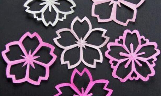 花朵剪纸图案的剪裁方法