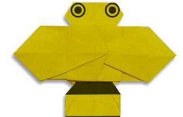 小蜜蜂的折纸方法,昆虫折纸教程