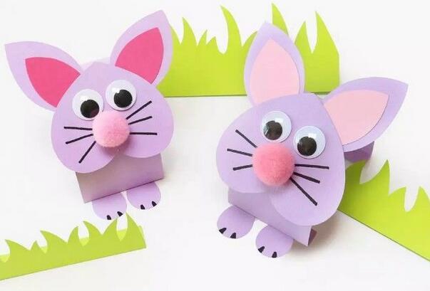 简单的手工折纸小兔子