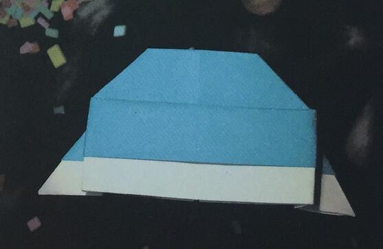 飞碟折纸步骤教程