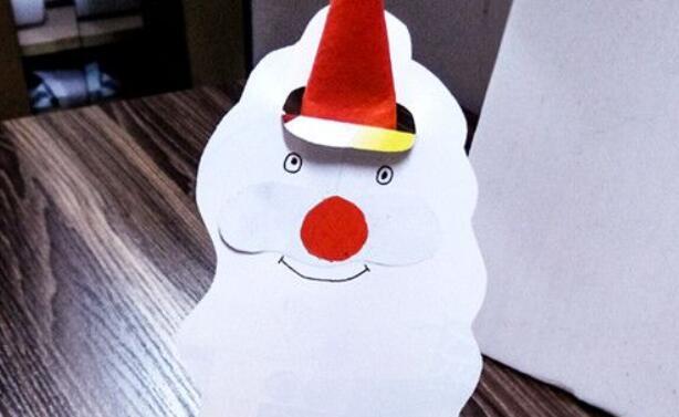 立体折纸圣诞老人制作教程
