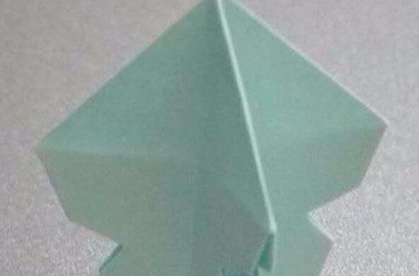 章鱼的折纸制作步骤