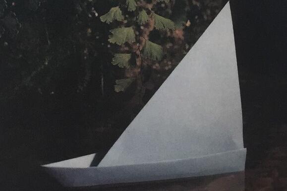 帆船折纸步骤教程