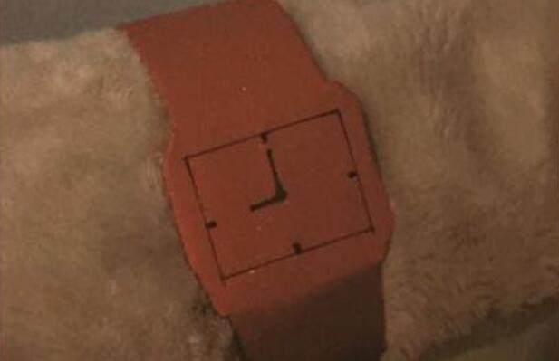手表简单的折纸教程