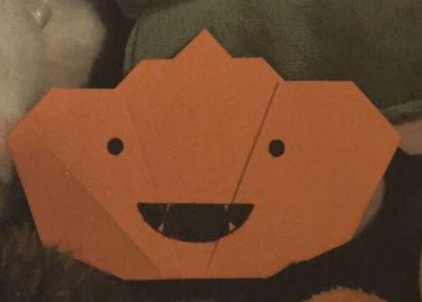 万圣节南瓜灯手工折纸