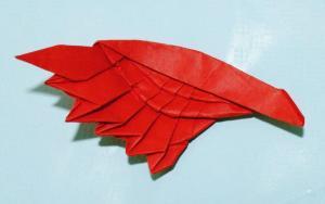 教你折纸天使之翼,折好可以当书签