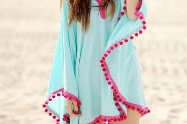 夏季防晒斗篷披肩的简易制作方法