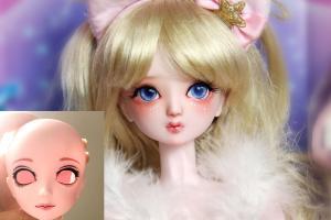 叶罗丽娃娃改妆成可爱的小仙女